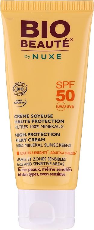 Солнцезащитный шелковистый крем SPF50 - Nuxe Bio Beaute Sunscreens Cream