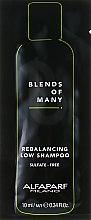 Духи, Парфюмерия, косметика Шампунь для восстановления баланса, бессульфатный - Alfaparf Milano Rebalacing Low Shampoo (пробник)