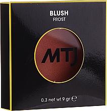 Духи, Парфюмерия, косметика Румяна - MTJ Cosmetics Frost Blush