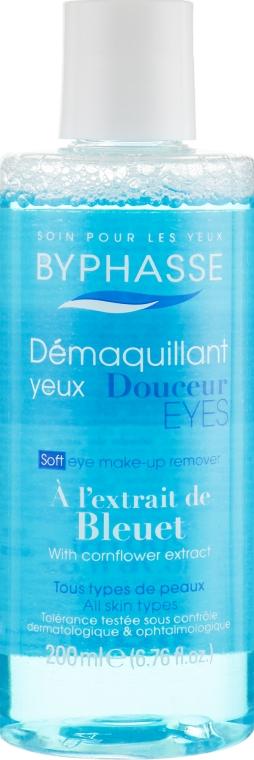 Средство для снятия макияжа с глаз - Byphasse Soft Eye Make-up Remover