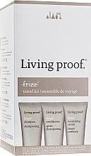 Духи, Парфюмерия, косметика Набор - Living Proof No Frizz (shm/60ml + cond/60ml + h/cr/60ml)