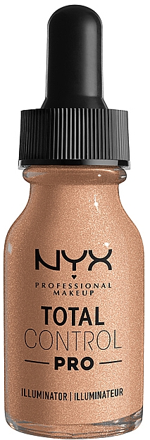 Иллюминатор для лица - NYX Professional Total Control Pro Drop Foundation Illuminator
