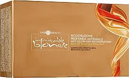 Духи, Парфюмерия, косметика Глубокое восстановление с анти-желтым эффектом - Hair Company Inimitable Blonde