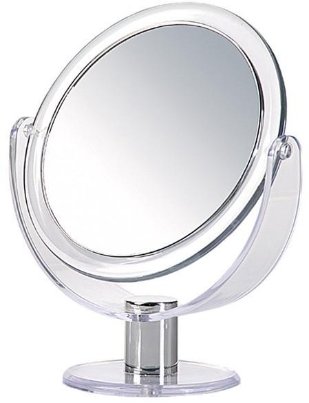 Зеркало настольное, круглое, двустороннее, 17 см - Donegal Mirror