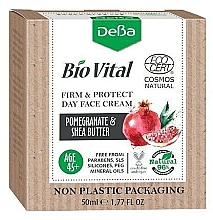 Духи, Парфюмерия, косметика Дневной крем для лица 45+ - DeBa Bio Vital Firm and Protect Day Face Cream with Pomegranate Extract