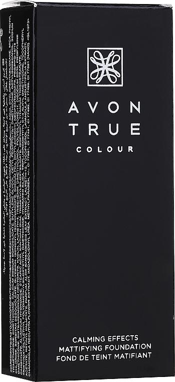 Матовый тональный крем для лица - Avon True Colour Calming Effects Mattifying Foundation