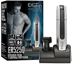 Духи, Парфюмерия, косметика Электрический эпилятор для лица и тела ER5250 - Id Italian Electric Hair Remover Body&Care