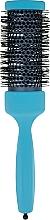 Парфумерія, косметика Брашинг з професійним термостійким нейлоном d 43 mm, блакитний - 3ME Maestri