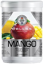 Духи, Парфюмерия, косметика Увлажняющая маска для волос с маслом манго - Dallas Cosmetics Moisture Repair Mask