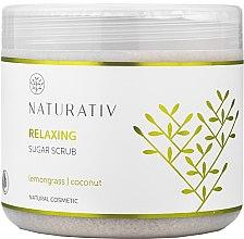 Сахарный пилинг для тела - Naturativ Relaxing Body Sugar Scrub — фото N2