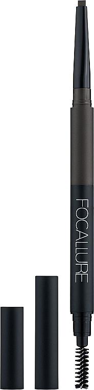 Автоматический карандаш для бровей 3в1 - Focallure Eyebrow Pencil 3in1