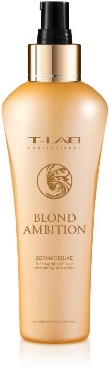 Сыворотка для великолепной ревитализации и блеска - T-LAB Professional Blond Ambition Serum Delux