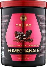 Духи, Парфюмерия, косметика Маска для волос с маслом гранатовых косточек и натуральным кокосовым маслом - Dallas Cosmetics Pomegranate Hair Mask