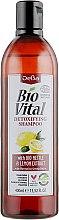 Духи, Парфюмерия, косметика Шампунь-детокс для нормальных и жирных волос с экстрактом крапивы и лимона - DeBa Bio Vital Shampoo