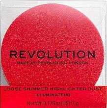 Духи, Парфюмерия, косметика Хайлайтер для лица - Makeup Revolution Shimmer Dust