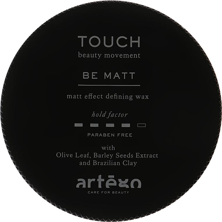 Воск с матовым эффектом средней фиксации - Artego Touch Be Matt