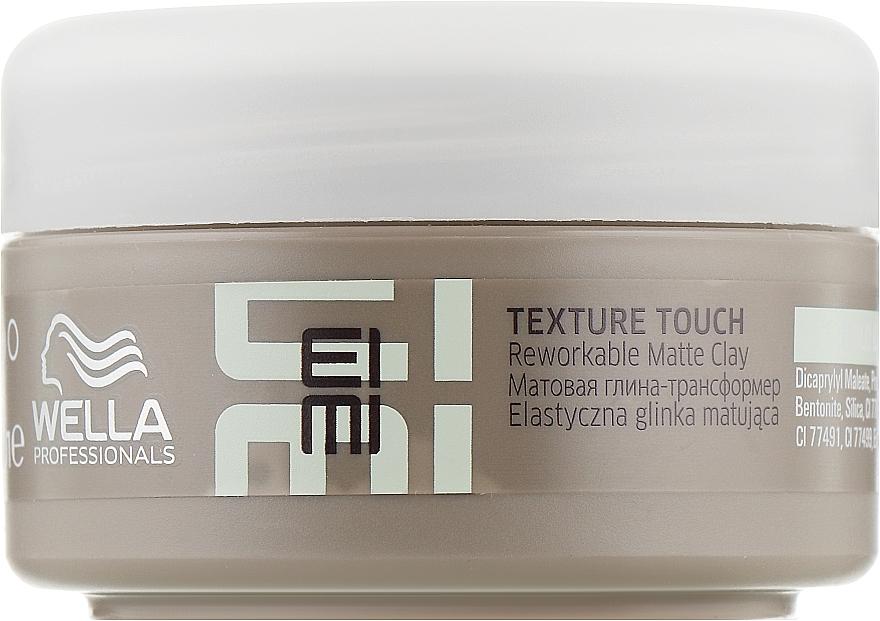 Матовая глина-трансформер - Wella Professionals EIMI Texture Touch