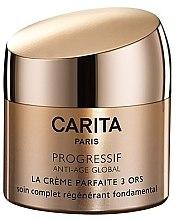 """Духи, Парфюмерия, косметика Крем для лица """"Три золота"""" - Carita Progressif Anti-Age Global Perfect Face Cream"""