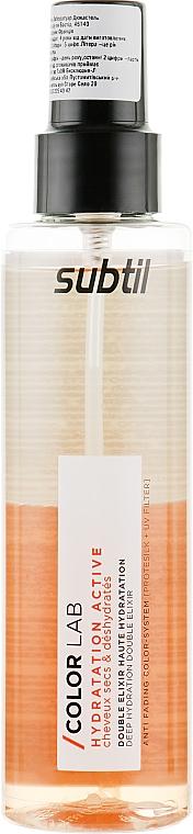 Двухфазный увлажняющий эликсир - Laboratoire Ducastel Subtil Color Lab Hydratation Active Elixir