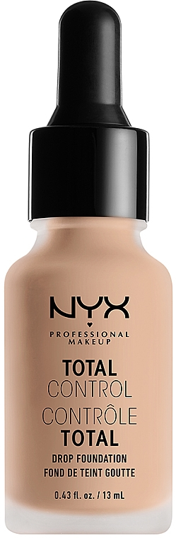 Стойкая тональная основа - NYX Professional Makeup Total Control Drop Foundation