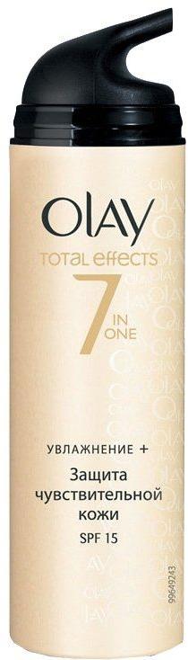 Дневной увлажняющий крем - Olay Total Effects Day Cream Sensitive SPF15