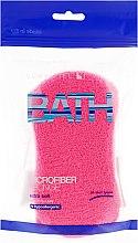 Духи, Парфюмерия, косметика Мочалка банная, розовая - Suavipiel Microfiber Bath Sponge Extra Soft