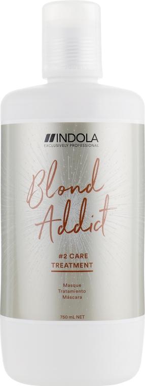 Маска для волос - Indola Blond Addict Treatment