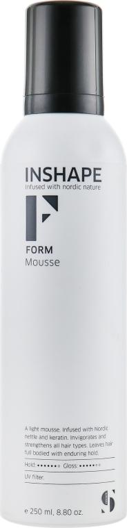 Пена для укладки волос - Inshape Form Mousse