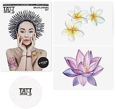 Духи, Парфюмерия, косметика Временные тату - TATTon.me Bali Flowers Set