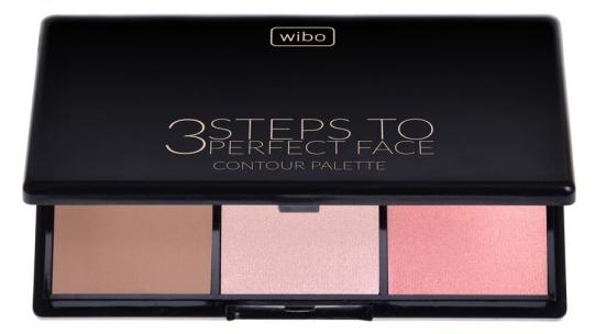 Набор для контуринга лица - Wibo 3 Steps to Perfect