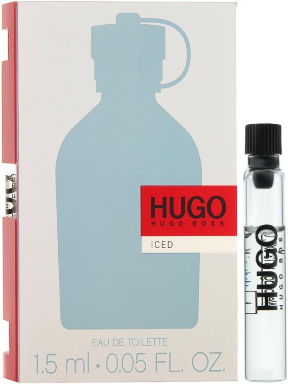 Hugo Boss Hugo Iced - Туалетная вода (пробник)