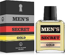 Духи, Парфюмерия, косметика Gianni Gentile Men's Secret Gold - Одеколон