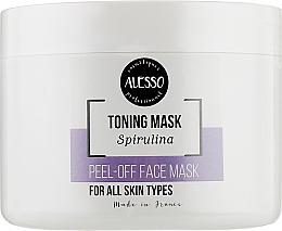 Духи, Парфюмерия, косметика Альгинатная маска очищающая с хлорофиллом - Alesso Peel-Off Face Toning Mask Spirulina
