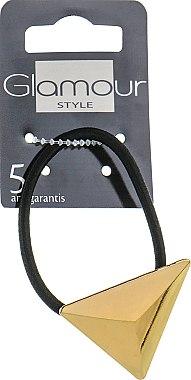 Резинка для волос, 415992, золотая - Glamour — фото N1