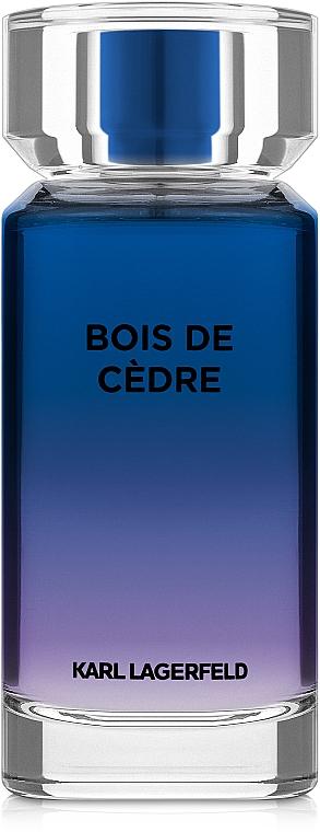 Karl Lagerfeld Bois De Cedre - Туалетная вода
