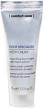Духи, Парфюмерия, косметика Питательный крем для ног - Comfort Zone Foot Specialist Neem Cream