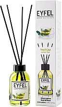 "Аромадиффузор ""Green tea"" - Eyfel Perfume Reed Diffuser Green tea — фото N1"