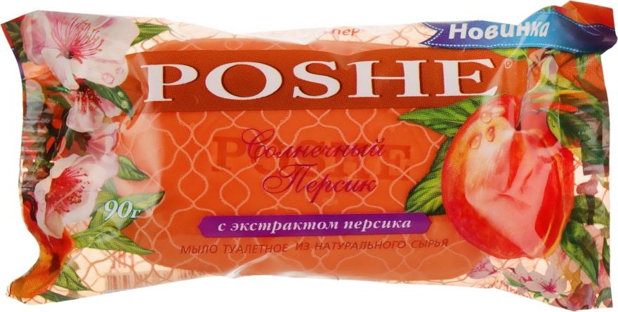 """Мыло туалетное твердое """"Солнечный персик"""" - Poshe"""