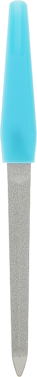 Пилочка металлическая, MN 41042, голубая - Omkara