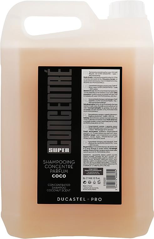 """Сильноконцентрированный шампунь для волос """"Кокос"""" - Laboratoire Ducastel Subtil Shampoo"""