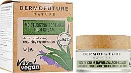 Духи, Парфюмерия, косметика Успокаивающий и увлажняющий крем для лица - Dermofuture