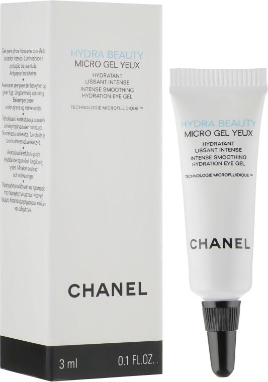 Увлажняющий гель для кожи вокруг глаз - Chanel Hydra Beauty Micro Gel Yeux (пробник)
