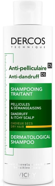 Шампунь против перхоти интенсивного действия для сухих волос - Vichy Dercos Anti-Dandruff Treatment Shampoo