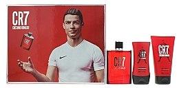Духи, Парфюмерия, косметика Cristiano Ronaldo CR7 - Набор (edt/100m+sh/gel/150ml+ash/balm/100ml)