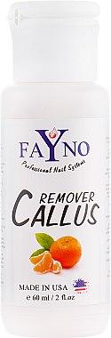 """Кислотный пилинг для педикюра """"Мандарин"""" - Fayno Callus Remover"""