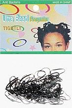Духи, Парфюмерия, косметика Резинки силиконовые для африканских косичек, черные - Элита