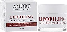 Духи, Парфюмерия, косметика Концентрированый антивозрастной крем-филлер под глаза с липофилинг комплексом - Amore Lipofiling Anti-Aging Eye Filler Cream