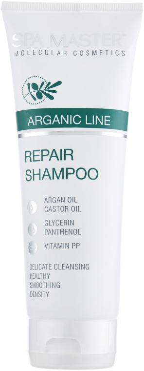 Восстанавливающий шампунь для волос с аргановым маслом - Spa Master
