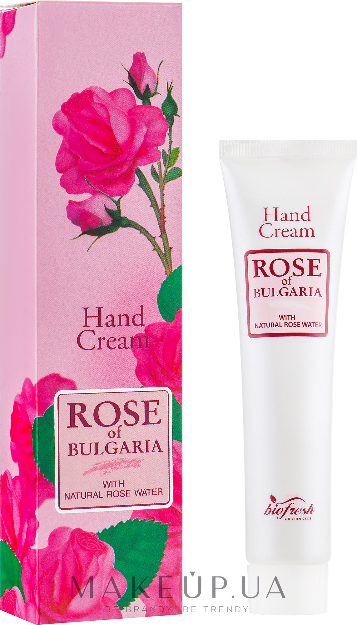 Крем для рук - BioFresh Rose of Bulgaria Rose Hand Cream — фото 75ml