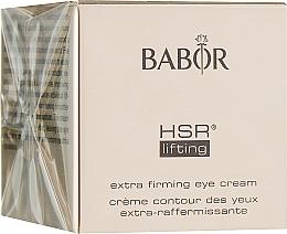 Духи, Парфюмерия, косметика Лифтинг-крем для век - Babor HSR Lifting Extra Firming Eye Cream (мини) (тестер)